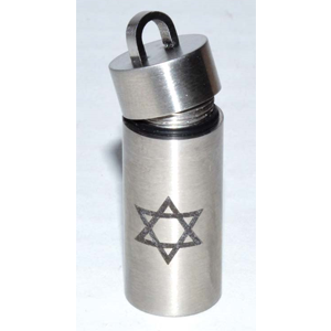 Ashes Chamber Star of David Pendant