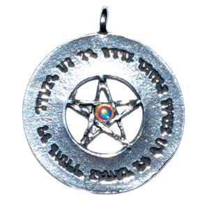 Money Spell pendant - Wiccan Place