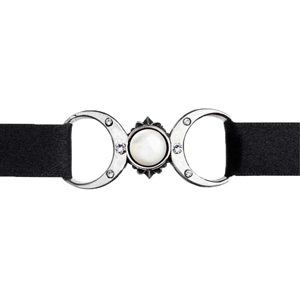 Triple Moon Goddess choker - Wiccan Place