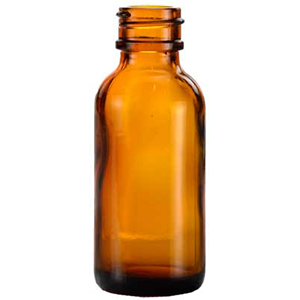 Amber Bottle only 1 Oz