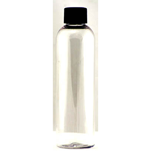 Clear Plastic Bottle (c) 4 oz - Wiccan Place