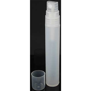 Frosted Plastic Spray Bottle 1/2 oz