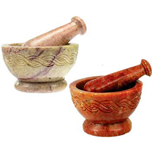 Celtic mortar & pestle set - Wiccan Place