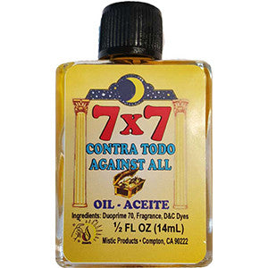7x7 Against All oil 4 dram - Wiccan Place