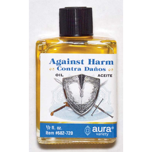 Against Harm oil 4 dram - Wiccan Place