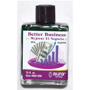 Better Business Money Drawing oil 4 dram - Wiccan Place