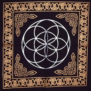 Seed of Life altar cloth 18