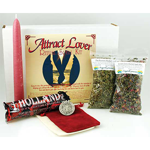 Attract Lover boxed ritual kit - Wiccan Place