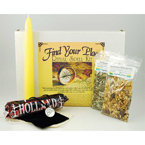 Find Your Place Boxed ritual kit - Wiccan Place