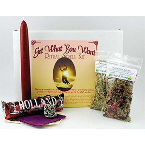 Get What You Want Boxed ritual kit - Wiccan Place
