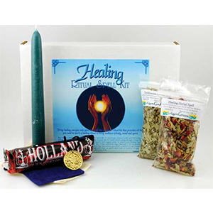 Healing Boxed ritual kit - Wiccan Place