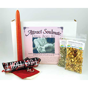 Attract Soulmate Boxed ritual kit - Wiccan Place
