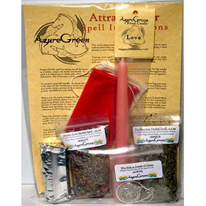 Attract Lover ritual kit - Wiccan Place