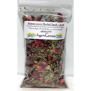 Attract Love spell mix 1/2 oz - Wiccan Place
