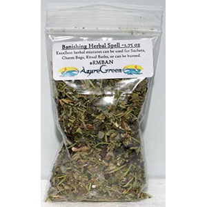 Banishing spell mix 1 ounce - Wiccan Place