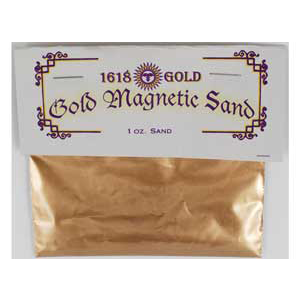 Gold Magnetic Sand (Lodestone Food) 1oz - Wiccan Place
