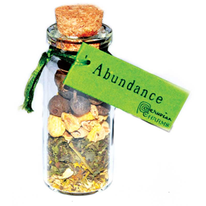 Abundance Pocket Spell Bottles - Wiccan Place