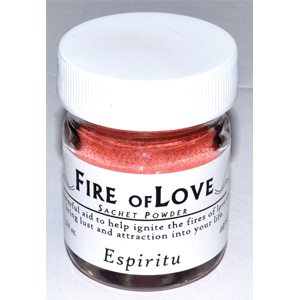 Fire of Love sachet powder 3/4oz - Wiccan Place