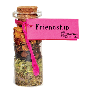 Friendship  Pocket Spell Bottle - Wiccan Place