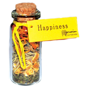 Happiness Pocket Spell Bottle - Wiccan Place
