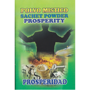 Prosperity sachet powder 1/2 oz - Wiccan Place