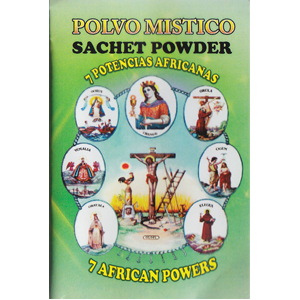 Seven African Powers sachet powder 1/2 oz - Wiccan Place