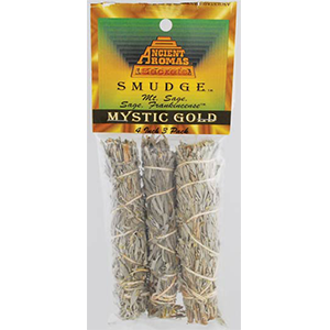 Mystic Gold smudge stick 3 pk 4