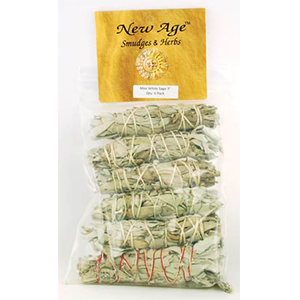 White Sage smudge stick 6-Pack 3