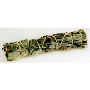 Black Sage (Mugwort) Smudge Stick 4""