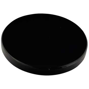 "Black Obsidian scrying mirror 8"" - Wiccan Place"