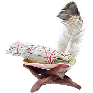 White Sage Smudge Kit - Wiccan Place