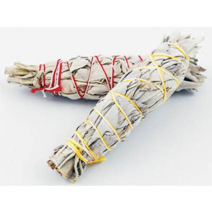 California White Sage smudge stick 3""