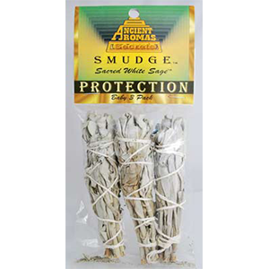 White Sage Smudge Sticks 3 pk 3 1/2