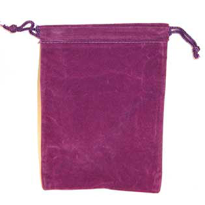 Bag Velveteen 4 x 5 1/2 Purple - Wiccan Place