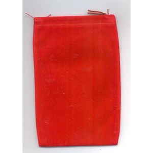 Bag Velveteen 4 x 5 1/2 Red Bag - Wiccan Place