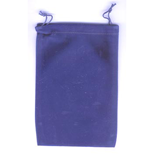 Bag Velveteen 5 x 7 Blue Bag - Wiccan Place