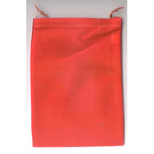 Bag Velveteen 5 x 7 Red Bag - Wiccan Place
