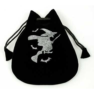 Witch Velveteen Bag - Wiccan Place