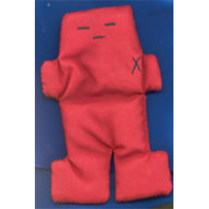 "Red Voodoo Doll 5"" - Wiccan Place"