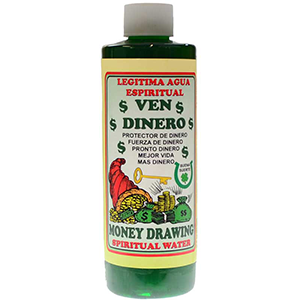 Money Drawing (Ven Dinero) wash 8 oz - Wiccan Place