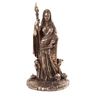 Goddess Hecate (bronze) Statue - Wiccan Place