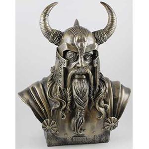 "Odin Bust 14"" - Wiccan Place"