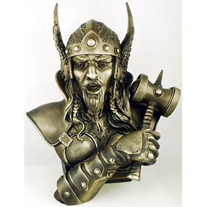 "Thor bust 14"" - Wiccan Place"