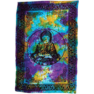 "Buddha tapestry 72"" x 108"" - Wiccan Place"