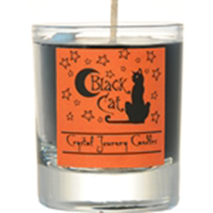 Black Cat soy votive candle - Wiccan Place