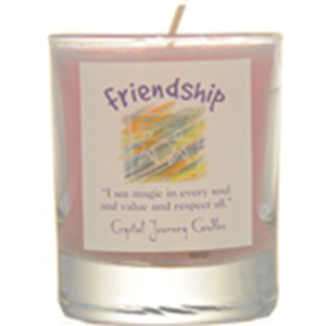 Friendship soy votive candle - Wiccan Place