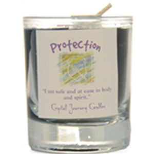 Protection soy votive candle - Wiccan Place