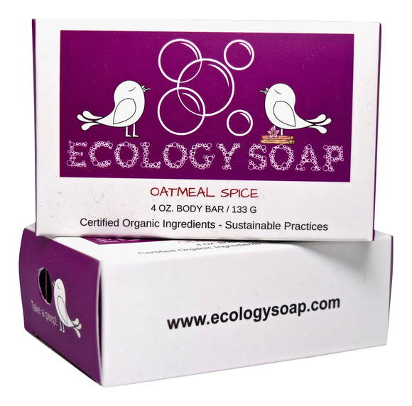 Ecology Soap Oatmeal Spice Body Bar