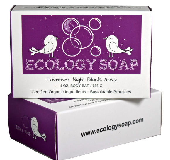 Ecology Soap Lavender Night Black Soap