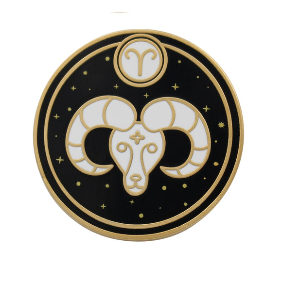 Aries Astrological Sign Pin - Star Sign / Astrology Enamel Pins